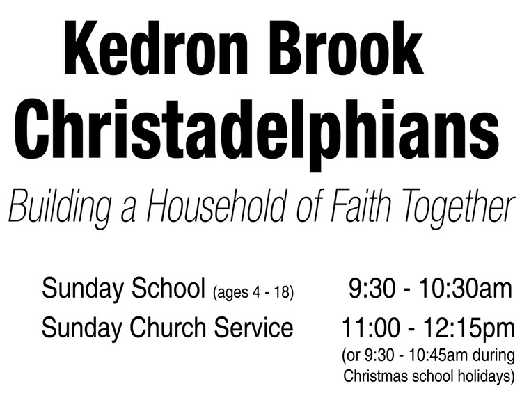 Kedron Brook Christadelphians